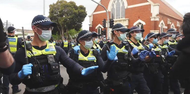Meet The Protesters Fighting Australia's Lockdowns And Vaccine Mandates